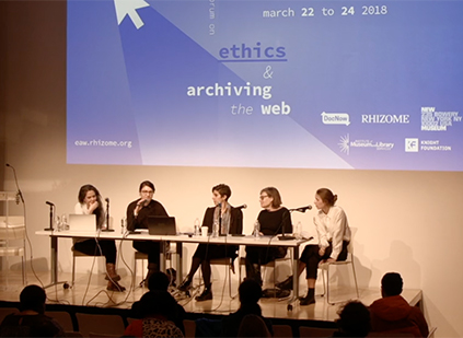 Ethics and Archiving the Web: Curation and Power