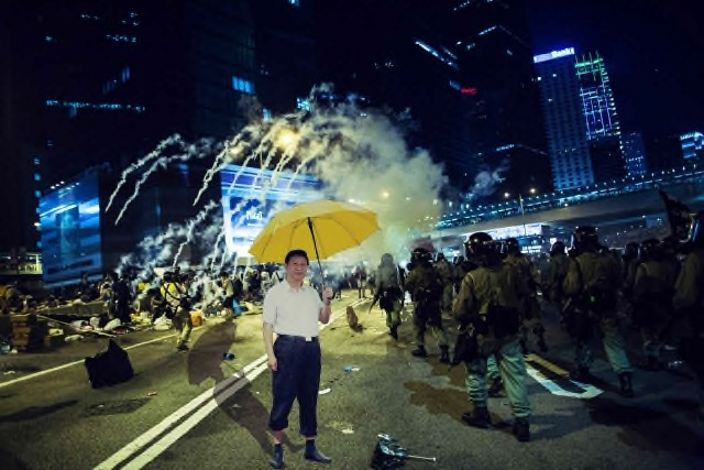 Derivative works and images of protest in Hong Kong